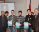 В мэрии наградили победителей Первенства города по зимнему полиатлону